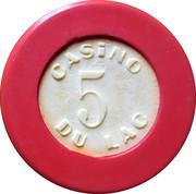 5 Francs - Casino Bagnoles-de-l'Orne – obverse