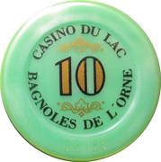 10 Francs - Casino Bagnoles-de-l'Orne – reverse