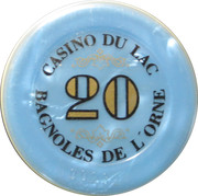 20 Francs - Casino Bagnoles-de-l'Orne – reverse