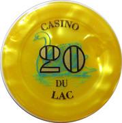 20 Francs - Casino Bagnoles-de-l'Orne – obverse