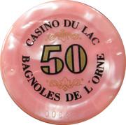 50 Francs - Casino Bagnoles-de-l'Orne – reverse