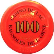 100 Francs - Casino Bagnoles-de-l'Orne – reverse