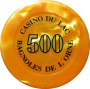 500 Francs - Casino Bagnoles-de-l'Orne – reverse
