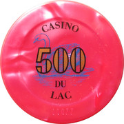 500 Francs - Casino Bagnoles-de-l'Orne – obverse