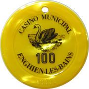 100 Francs - Casino Enghien-Les-Bains – obverse
