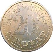 20 Francs - Casino de Royat – obverse