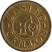Token - Casino Crillon – obverse