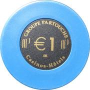1 Euro - Grand Casino (Cabourg) – obverse