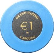 1 Euro - Grand Casino (Cabourg) – reverse