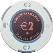 2 Euro - Grand Casino (Cabourg) – obverse