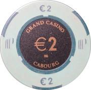 2 Euro - Grand Casino (Cabourg) – reverse