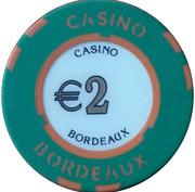 2 Euro - Casino Bordeaux – reverse