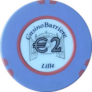 2 Euro - Casino Barriere (Lille) – obverse