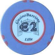 2 Euro - Casino Barriere (Lille) – reverse
