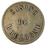 Token - Casino de Boulogne – obverse