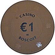 1 Euro - Casino Roscoff – obverse