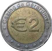 2 Euro - Casino de Gerardmer – obverse