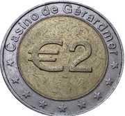 2 Euro - Casino de Gerardmer – reverse