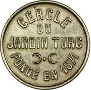 2 Francs - Cercle du Jardin Turc – obverse