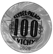100 Francs - Elysée-Palace (Vichy) – obverse