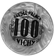 100 Francs - Elysée-Palace (Vichy) – reverse