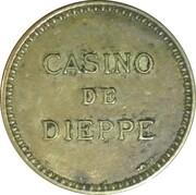 Token - Casino de Dieppe – reverse