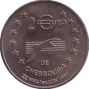2 Euro - Cherbourg – reverse
