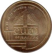 1 Euro - Rennes – reverse