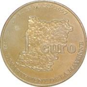 1 Euro -Mayenne – reverse