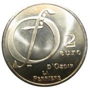 2 Euro - Ozoir la Ferrière – reverse