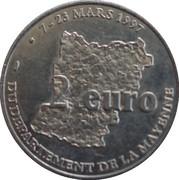 2 Euro - Mayenne – reverse