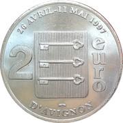2 Euro - Avignon – reverse