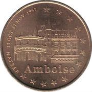 1 Euro - Tours and Touraine (Amboise) – obverse