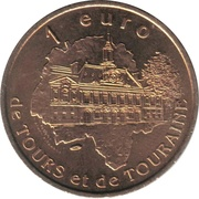 1 Euro - Tours and Touraine (Blere) – reverse