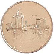 2 Euro - La Rochelle – obverse