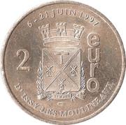 2 Euro - Issy-les-Moulineaux – reverse