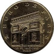 2 Euro - Paris – reverse