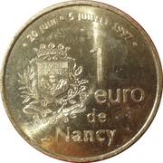 1 Euro - Nancy – reverse