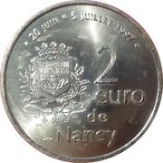 2 Euro - Nancy – reverse