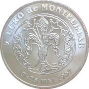 2 Euro - Montélimar – reverse
