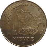 1 Euro - Nièvre – reverse