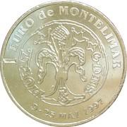 1 Euro - Montélimar – reverse
