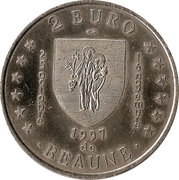 2 Euro - Beaune – reverse