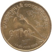 1 Euro - Abbeville – reverse