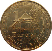 1 Euro - Milly-la-Foret – reverse