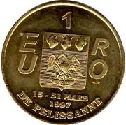 1 Euro - Pélissanne – reverse