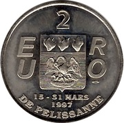 2 Euro - Pélissanne – reverse