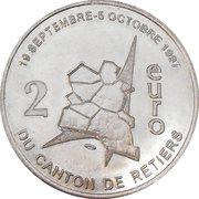 2 Euro - Canton de Retiers – reverse