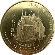2 Euro - Annecy – reverse