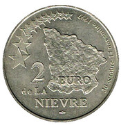 2 Euro - Nièvre – reverse